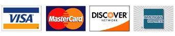 Financing - Credit card logos